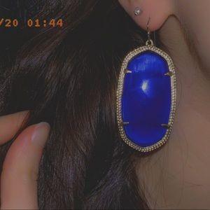 Kendra Scott Cobalt blue earrings